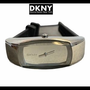 DKNY mirrored face watch